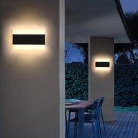 Modern Waterproof IP65 Outdoor Wall Lamp LED Super Brighter Light Garden Porch Landscape Sconce 110V 220V Luminaire Lamps