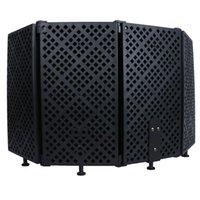 Микрофон Изоляция Shield Mic Sound Поглощающая пена для фильтра Вокальный экран ветра
