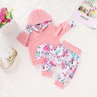 Bebê esporte terno designer crianças vestuário conjunto menina luva longa t shirt calça meninas jogging roupas casuais miúdos casatnos tracksuit 2246 y2