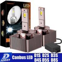 Car Headlights 2Pcs Canbus D3S LED Kit D1S D5S D2S D4S D8S 6500K Bulb Plug And Play Auto Headlight D2R D4R No Error Conversion