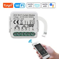 Smart Home Control Tuya WiFi Intelligent Curtain Switch Module Two-way Modification Mobilephone Device