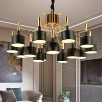 Chandeliers American Style High Quality S Modern Led Chandelier Light Luxury Round Shape Lighting