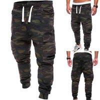 Брюки плюс размер 4XL мужчин военный камуфляж печать брюки много карманов Jog спортивная одежда грузовые спортивные штаны мужской
