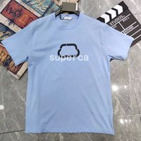 21ss Good Qaulty Summer Mens Designer Designer Tees 100% Cotton T Shirt Moda Casual Coppie Casual Maniche corte Tee Confortevole Uomo Donna T-shirt BL5487