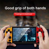 168D 8GB X7 PLUS Handheld Game Player 5.1 Inch PSP Screen Portable Game Console MP4 Player with Camera TV Out TF Video for GBA NES Game