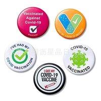 Ich habe meinen Empfänger Benachrichtigungsbrosche für Männer für Männer Frauen Öffentliche Gesundheit Pin Back Button Kunststoffabzeichen Runde Brosche 2021 Dekoration G55FK69