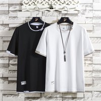 Fashion Brand Tshirt Mens Designer T Shirts Embroidery Letter Print Men Casual Round Neck Fashion Mens Designer Winter Coats Size M-XXL