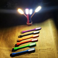Mini LED read Light USB Gadgets Computer Lamp Flexible Ultra Bright for Notebook PC Power Bank Partner