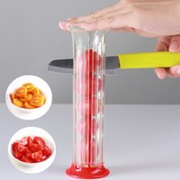 Strawberry Tool Tomato Grape Cherry Slice Vegetable Salad Make Gadget Vertical Fruit Slicer Kitchen Supplies