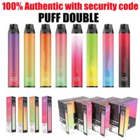 100% Authentic Vapes Sigarettes Puff Double 2 in 1 Penna vape monouso 2000Puffs 900Mah Batteria 6ml Premilled 2in1 Pods Vaporizzatore Portatile VAPOR AIR BAR TOUCH