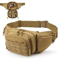 Sacos Ao Ar Livre Tático Molle Cintura De Arma Saco Coldre Escondido Pistola Mala Mala Militar Caça Fanny Pack Sling Ombro