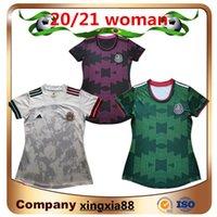 2021 Mexique Femmes Soccer Jersey National Femelle Mexicien Club fille Femme MX Liga Chivas Cruz Azul Monterrey Chiharito Lozano Guardado Vela Football Shirts