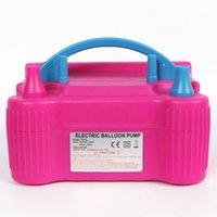 Taşınabilir Balon Pompası 73005 Elektrikli çocuk Doğum Günü Partisi Düğün Malzemeleri Şenlikli Dekorasyon Üfleme Kutulu