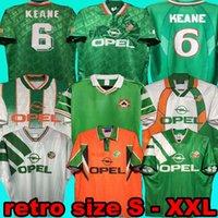 1992 93 94 94 94 96 أيرلندا الرجعية لكرة القدم جيرسي 1990 هوم كلاسيكي جيرسي خمر إيرلندي شيدي 1994 1995 1996