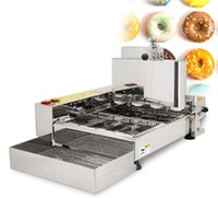 2500W Commercial Automatic Electric Donut Maker 6 Rows Donut Frying Mini Doughnut Machine