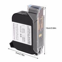 Ink Cartridges JS10 2580 2586K Solvent Black Fast Dry Cartridge For 530 H3 H6 H7 M3 M3S M6 M7 TX Inkjet Printer