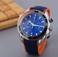 Alle Unterteilen Arbeit Freizeit Herrenuhren Stoff Quarz Armbanduhren Stoppuhr Für Männer Reloppes Geschenk Saphir Leuchtende Uhr