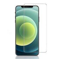 Protecteur d'écran en verre trempé pour iPhone 12 11 PRO X / XS Max XR 8 7 6S Plus 10 sur 1 Package de papier