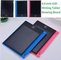 4,4 polegadas LCD escrita tablet digital portátil desenho tablet caligrafia almofadas Eletrônico graffiti tablets placa para adultos crianças crianças presentes