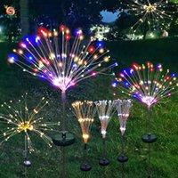 Fireworks Lamp Christmas Outdoor Led Festival Starry Lights Lawn Floor Outlet Christmas Lights Solar-Powered String Lights