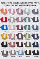 32 Renk Bayan Tayt Tasarımcılar Yoga Kıyafet Pantolon Yüksek Bel Klasik Spor Spor Giyim Pantolon Elastik Fitness Giymek Genel Tayt Tayt Egzersiz Sıkı Pantolon