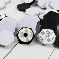 10-100 stücke Sechseck leeres Material Mobiltelefon Falten Stretch Air-Bag Halterung Finger Ballon Unterstützung Zellhalterung Inhaber