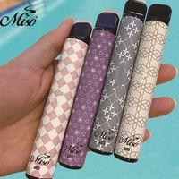 2021 New Miso Plus Disposable vape Pen kit 800+ puffs 550mah battery 85colors Disposable Pod Cartridge ecig VS puff plus bars