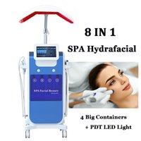 Oxygen Jet Hydra Dermabrasion Microdermabrasion 5 en 1 Machine hydrafacienne Hydro Pigmentation Traitement de l'acné Equipement de spa nettoyage de la peau
