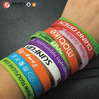 New Custom Silicone Bracelets, Make Your Own Rubber Wristbands With Msage or , High Quality Personalized Wrist Band