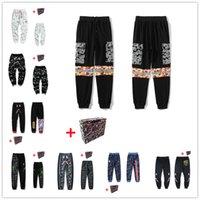 Мужские брюки, светящиеся звездные неба, повседневные брюки, женские пары, штаны для охраны ног, камуфляжные карманы для головы акул, рефлексивный цвет граффити шить, APA-MAN 0105
