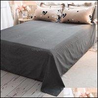 Sets Supplies Textiles Home & Gardenking Size Single Double Person White Black Heart-Shaped Bedding Bedclothes Ab Side Winter Duvet Er Set 2