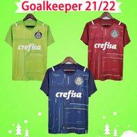 2021 Portiere Palmeiras Soccer Jerseys Dudu Felipe Melo 21 22 Camicie da calcio Casa Away Third Red Green Blue 2022 Feminina S-2XL Top Quality