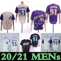 مخصص DiamondBacks الرجال النساء الشباب أريزونا جيرسي 51 راندي جونسون 38 كورت شيلينغ 21 جرينك 44 بول جولدشميدت البيسبول الفانيلة 08