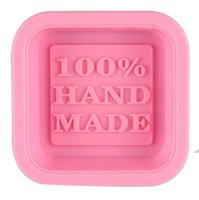 100% Handmade Soap Molds DIY Square Silicone Moulds Baking Mold Craft Art Making Tool DIY Cake Mold AHE6598