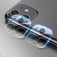 Toptan Geri Kamera Koruyucu Lens Koruma Filmi Galss HD Temizle Temperli Ultra-ince iphone 12 Mini 11 Pro Max XR XS 7 8 artı 6.7 inç
