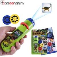 Balleenshiny Родитель-ребенок Взаимодействие Головоломки Раннее Образование Светящиеся Игрушка Животное Динозавр Детская Слайд Проектор Лампа Детские Игрушки