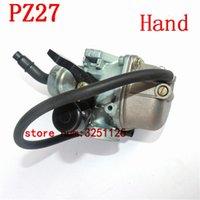 Motorrad Kraftstoffsystem 27mm Vergaser Kohlenhydrate Kabel Hand Choke PZ27 Pumpenbeschleuniger Vergaser Für XL 100 125 150 175 Dirt Bike