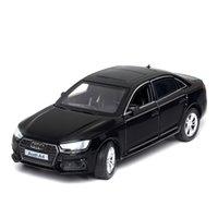 132 Audi A4 Auto Modello auto Metallo Diecast Giocattoli per collezione per bambini / Diecast Veicoli Pull-Back Vehicle Boy Toy Car Regalo