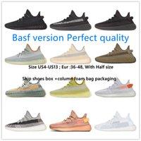 BASF avec boîte désert Sage chaussure noir réfléchissant Asriel ELIADA CIND CINDRE MENS Femmes Sneakers Marsh Yecheil Earth Zyon Lin Bred Running Sports Shoes
