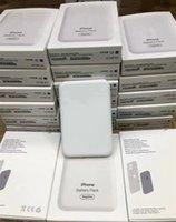 Alta Qualidade Telefone Móvel Indução Magnética Banco De Potência de Carregamento 1460mAh para iPhone 12 13 Magsafe Qi Wireless Carregador de Potência Banco Recarregável Bateria Portátil Recarregável