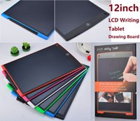 Portable 12 Inch Drawing Tablet Handwriting Pads Electronic Tablet Board With Pen for Adults Kids students