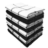 Soft 30*30CM 12*12INCH Dish Towel Super Absorbent Cotton Wiping Rags Lattice Designed Bathroom Kitchen Tea Bar Towels Home Glass Hand Cleaning Cloth HY0168