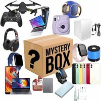 Other Clocks & Accessories Lucky Mystery Boxes Digital Electronic,There Is A Chance To Open: Such As Drones, Smart Watches, Gamepads, Camera