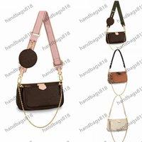 Women Handbag 3-piece set M44813 Designers Shoulder Bags Hand bag handbags wallet Crossbody Fashion Multi Pochette purses handbags818 WITH DATE Code Purse hook Box