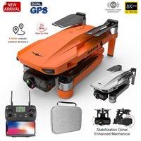 بدون طيار 4K Profesional 8K HD كاميرا 2-Axis Gimbal Anti-Shake الهوائي فرش طوي كوادكوبتر 1.2 كم