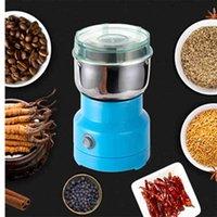 Mini Electric Food Chopper Processor Mixer Blender Pepper Vitlök Korsning Kaffe Grinder Extreme Speed Sliping Köksredskap 210910