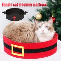 الأسرة القط أثاث مؤسسة الكلب السرير الخفافيش تصميم منزل الحيوانات الأليفة هالوين النوم حصيرة عيد الميلاد رجل حزام صغير