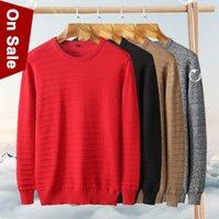 Новые весенние мужчины свитера пуловеры мужской полосатый хлопок вязаная осень зима равнина джерси тонкий свитер джемпер мальчик нижнее белье