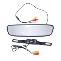 4,3 pouces moniteur de rétroviseur de rétroviseur Vidéo Auto Auto Assistance Parking Auto Vision Night Vision Inverser la caméra Black Autre Accessoir intérieur