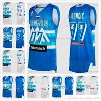 Pantalla impresa personalizada 2020-20 Juegos Olímpicos de Tokio Jersey de baloncesto de Eslovenia 77 DONCIC 27 DIMEC 5 RUPNIK 7 Prepélico 15 Hrovat 6 Nikolic 30 dragic 11 Blazic 8 Murdic Cancar